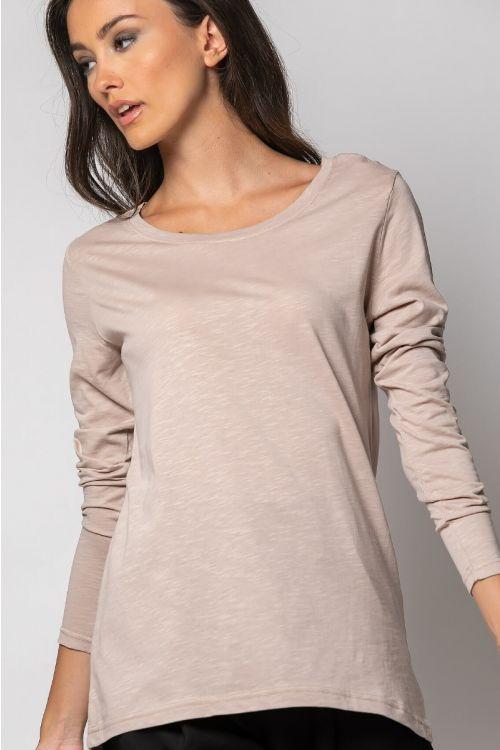 Ασύμμετρη basic μπλούζα-ΜΠΕΖ