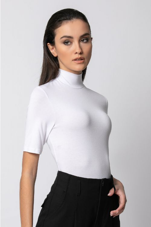T-shirt ζιβάγκο-ΕΚΡΟΥ