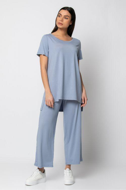 Σετ παντελόνι με t-shirt-ΣΙΕΛ