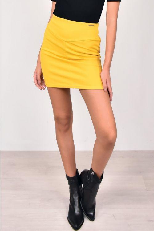 Μίνι φούστα-ΚΙΤΡΙΝΟ