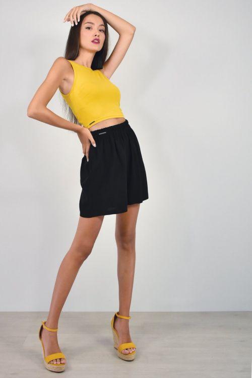 Shorts-ΜΑΥΡΟ