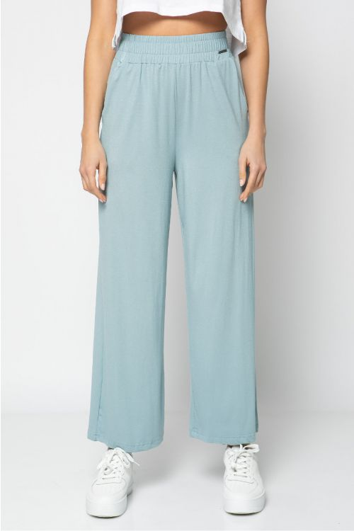 Παντελόνα με λάστιχο στη μέση-ΜΕΝΤΑ
