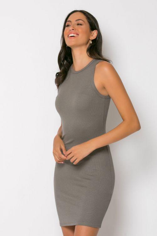 Φόρεμα ριπ μίνι messina-ΕΛΕΦΑΝΤ
