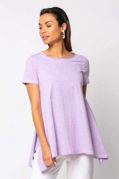 T-shirt με μύτες naples-ΛΙΛΑ