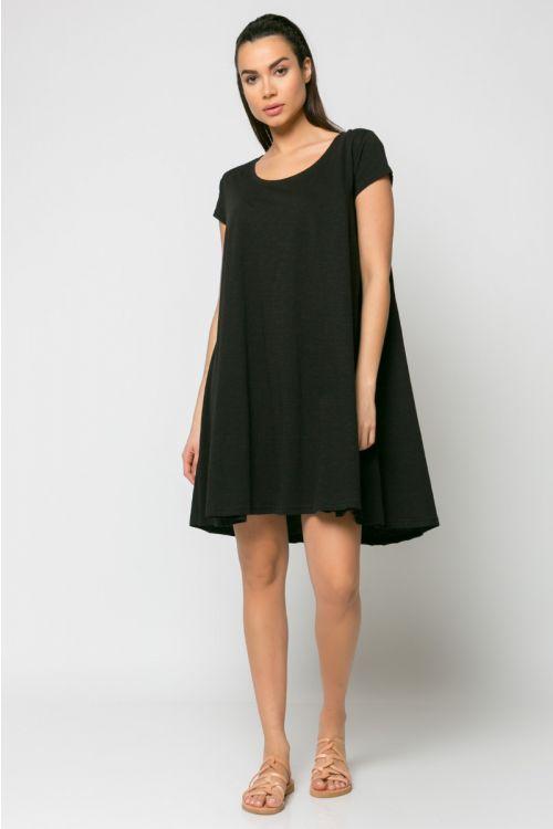 Φόρεμα kloss-ΜΑΥΡΟ
