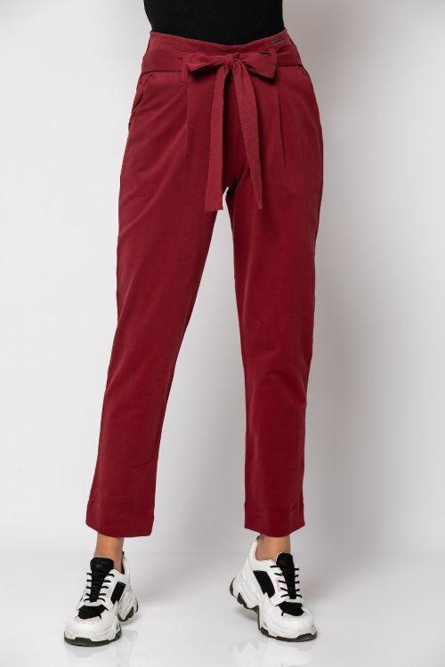 Παντελόνι με ενσωματομένο ζωνάκι-ΜΠΟΡΝΤΟ