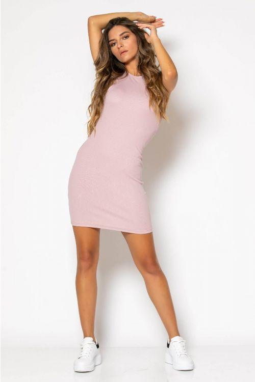 Αμάνικο ριπ φόρεμα-ΣΟΜΟΝ