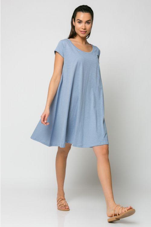 Φόρεμα kloss-ΓΑΛΑΖΙΟ