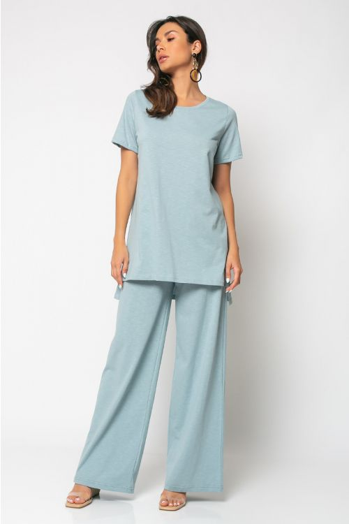Σετ παντελόνι με t-shirt palermo-ΣΙΕΛ