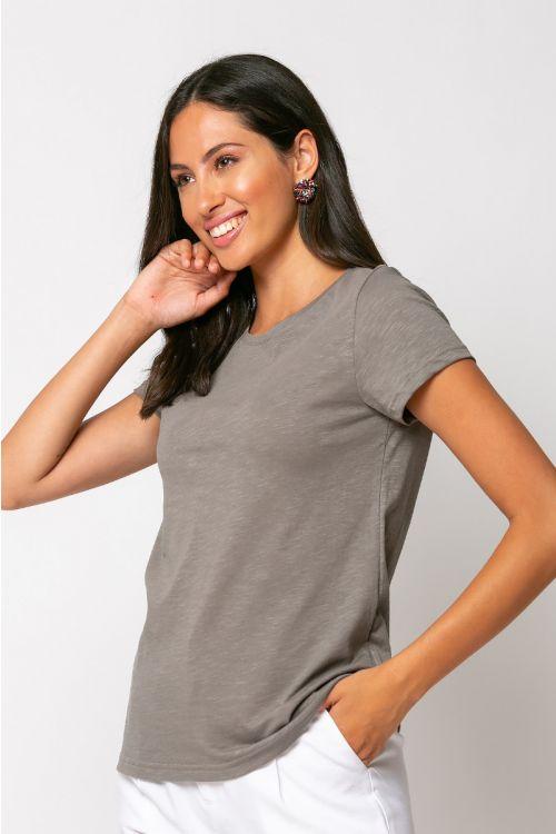 Basic t-shirt trieste-ΕΛΕΦΑΝΤ