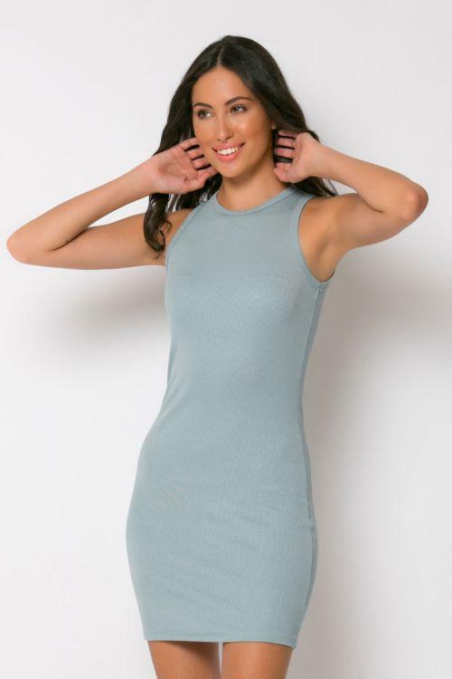 Φόρεμα ριπ μίνι messina-ΣΙΕΛ