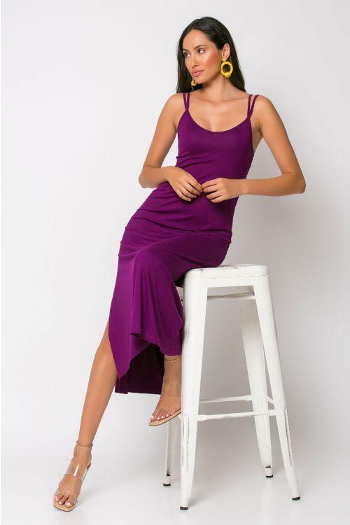 Μίντι φόρεμα brescia-ΜΩΒ