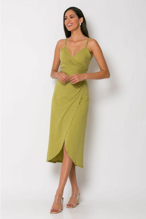 Φόρεμα κρουαζέ milan-ΛΑΔΙ