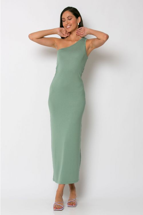 Φόρεμα με ένα ώμο parma-ΒΕΡΑΜΑΝ
